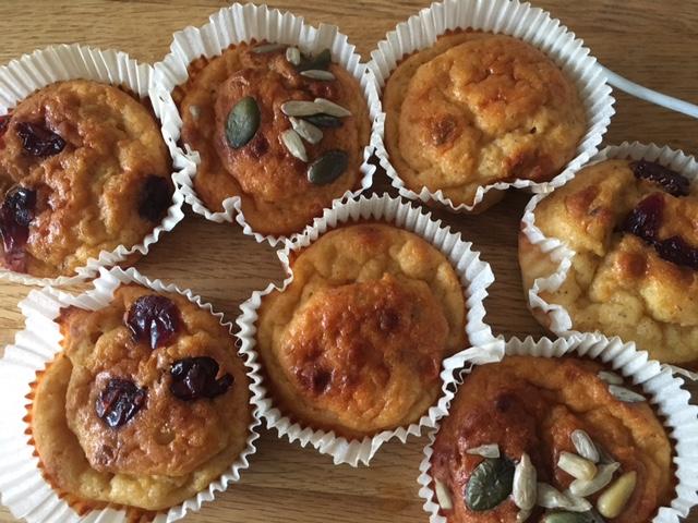 Prova att göra proteinmuffins av Slanka Äppelgröt