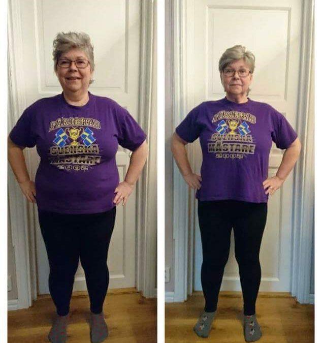 3 veckor på Slanka Maxi avklarade och -12,7 kilo