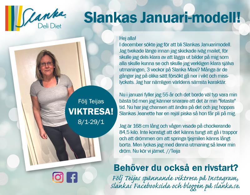 Nu kör jag jag igång på 3 veckors Slanka Maxi – häng på du också!