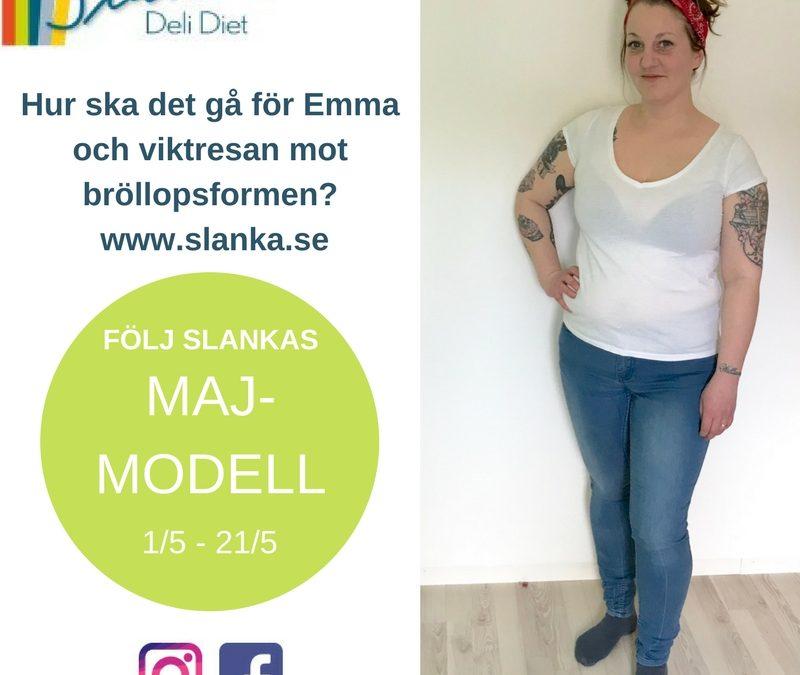 Träffa Emma – Slankas Majmodell