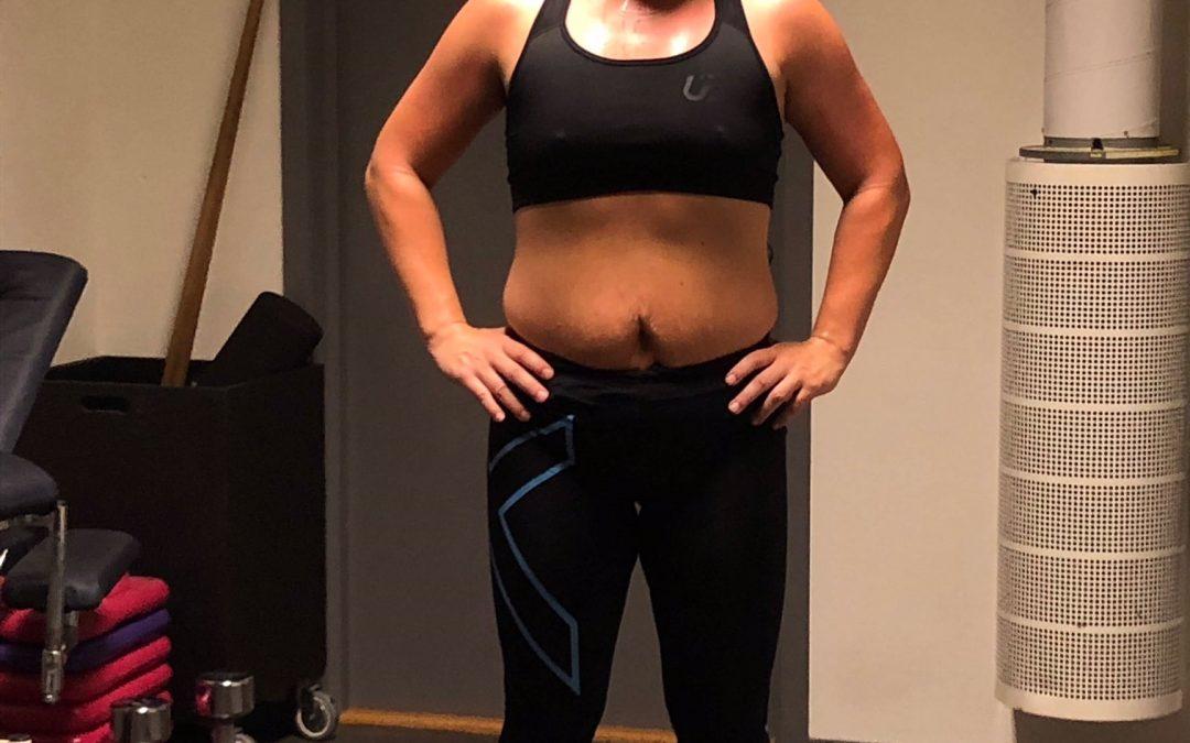 Hanna -25 kg med Slanka sänder en sommarhälsning