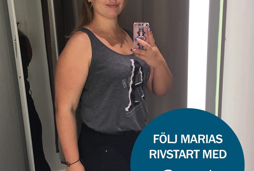 Följ Slankas Novembermodell Maria Gustavsson 5/11-26/11