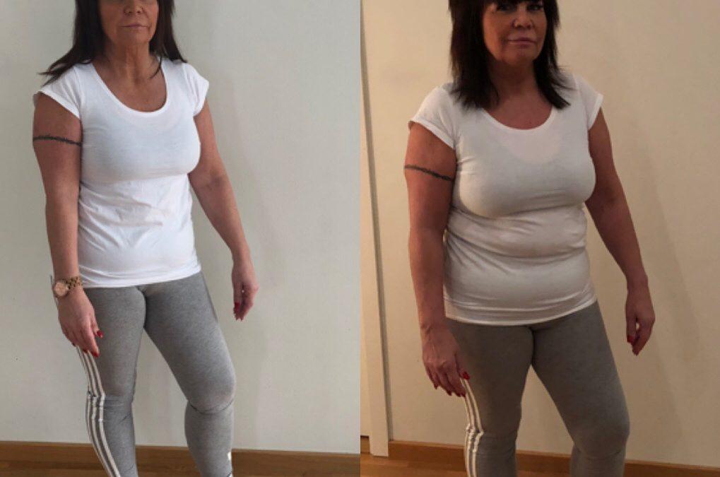Helen: nu har jag tappat härliga -8,4 kg med Slanka, det känns fantastiskt inspirerande