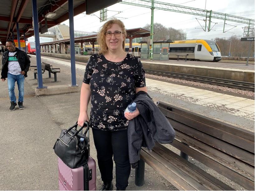 Utflykt till Umeå gick galant med Slanka i bagaget, nu -15 kg