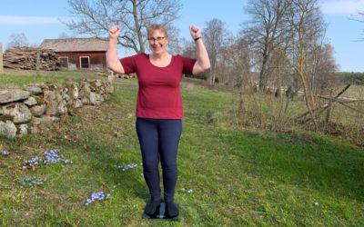 Jippie, jag går i mål -22 kilo lättare med Slanka